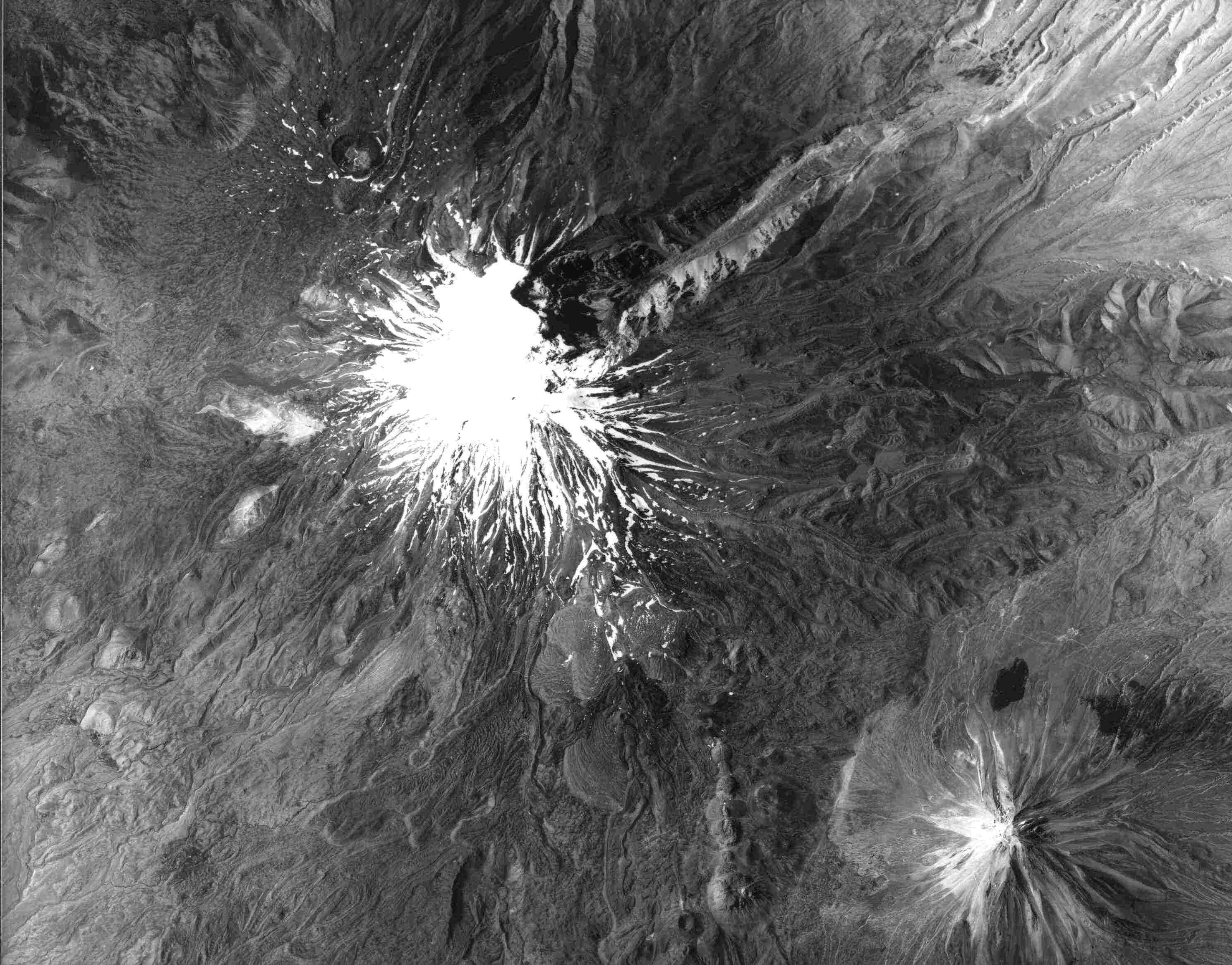 Noahs Ark Search Mount Ararat - Satellite height map