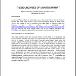 The Boundaries of Urartu/Ararat Paper