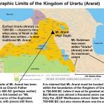 Urartu And Mount Ararat Map